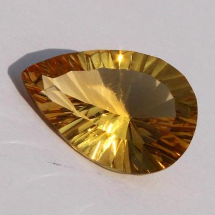 4x6mm Natural Citrine Concave Cut P..