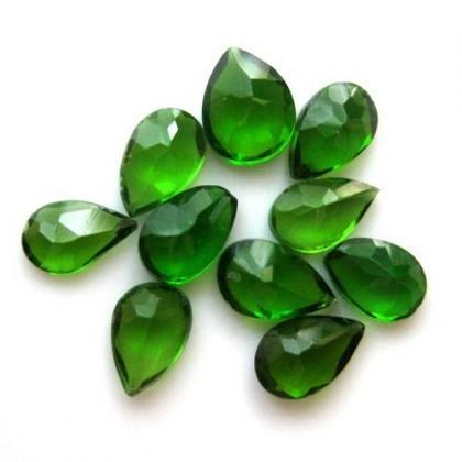 Natural Chrome Diopside- 7x5mm 50 P..