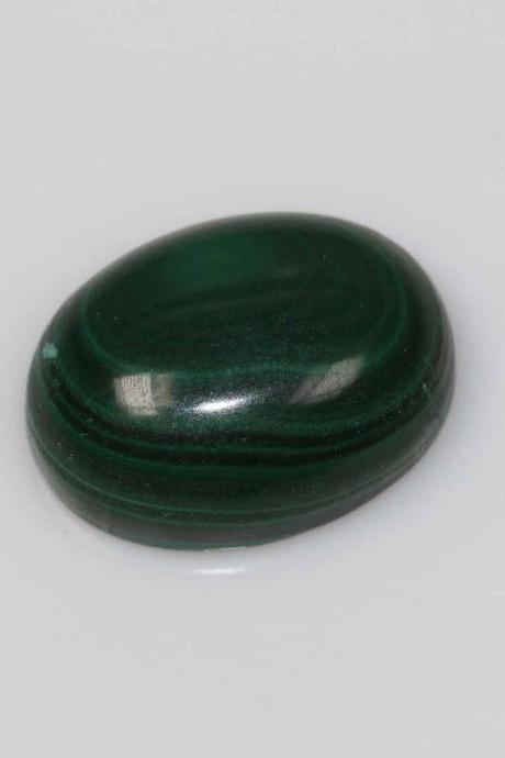 10x14mm Natural Malachite Cabochon Oval 2 Piece (1 Pair ) Calibrated Size Top Quality Green Color Loose Gemstone