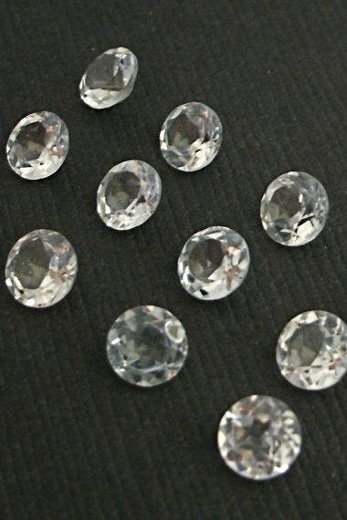3mm Natural Crystal Quartz Faceted Cut Round 25 Pieces Lot Calibrated Size Top Quality white Color Loose Gemstone