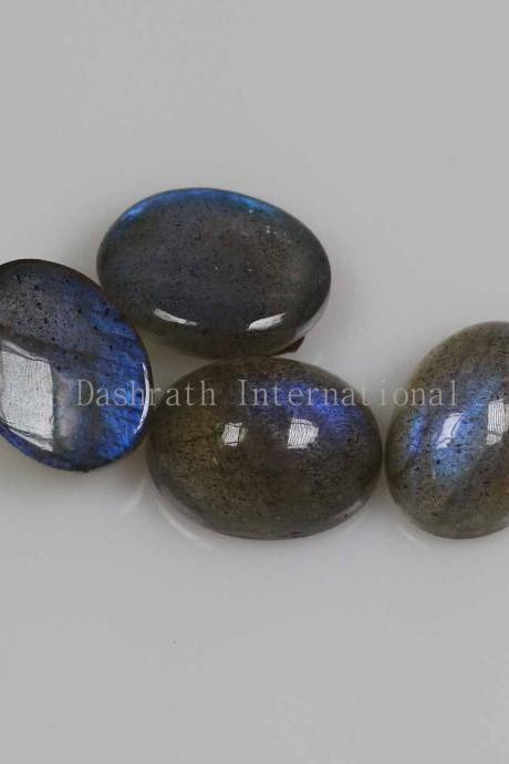 18x13mm Natural Labradorite Cabochon Oval 1 Piece Gray Color Blue Power Calibrated Size Top Quality Loose Gemstone