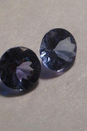 Natural Tanzanite 6mm 25 Pieces Lot Faceted Cut Round Top Quality A Color - Loose Gemstone