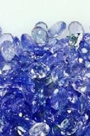 Natural Tanzanite 6x8mm 10 Pieces Lot Faceted Cut Oval Top Quality A Color - Loose Gemstone