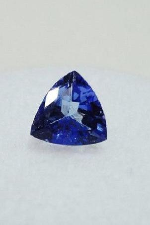 Natural Tanzanite 7mm 2 Pieces Faceted Cut Trillion Top Quality AA Color - Loose Gemstone