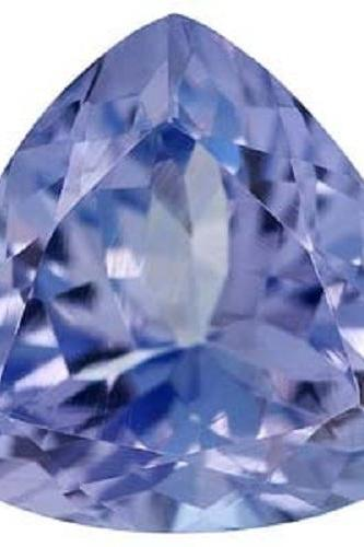Natural Tanzanite 8mm 10 Pieces Lot Faceted Cut Trillion Top Quality AA Color - Loose Gemstone
