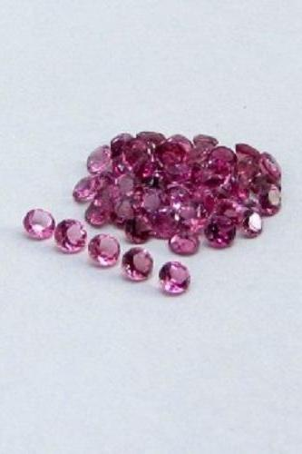 Natural Pink Tourmaline 3.5mm 5 Pieces Lot Faceted Cut Round Pink Color Top Quality Loose Gemstone