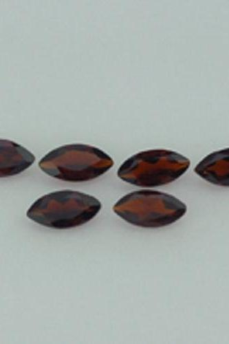 Natural Red Garnet 4x8mm 100 Pieces Lot Faceted Cut Marquise Red Color Top Quality Loose Gemstone