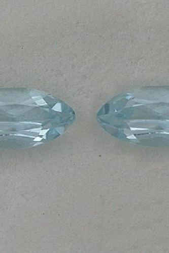 Natural Sky Blue Topaz 5x10mm 100 Pieces Lot Faceted Cut Marquise Blue Color - Natural Loose Gemstone