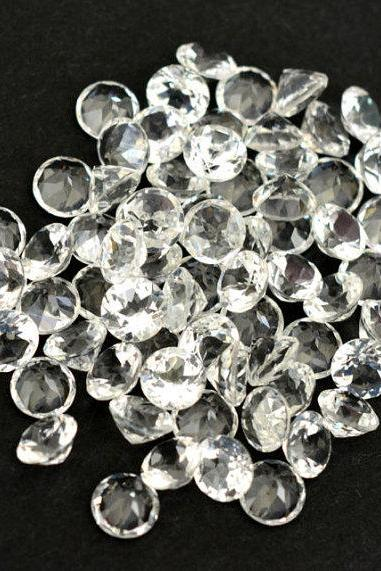 Natural White Topaz Calibrated Size 7mm 25 Pieces Lot Faceted Cut Round Natural - Loose Gemstone