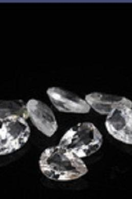 Natural White Topaz Calibrated Size 7x5mm 100 Pieces Lot Faceted Cut Pear Natural - Loose Gemstone