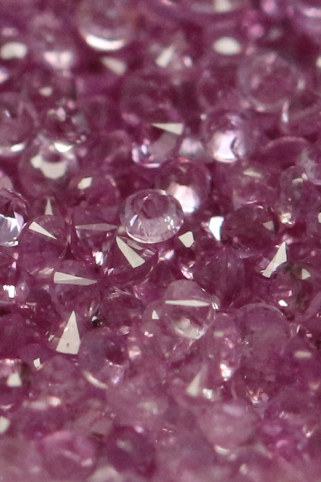 Natural Pink sapphire 2.2mm 25 Pieces Lot Faceted Cut Round Pink Color Top Quality Loose Gemstone