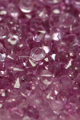 Natural Pink sapphire 3mm 5 Pieces Lot Faceted Cut Round Pink Color Top Quality Loose Gemstone