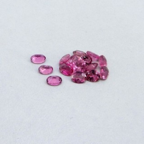 Natural Pink Tourmaline 4x5mm 25 Pieces Lot Faceted Cut Oval Pink Color Top Quality Loose Gemstone