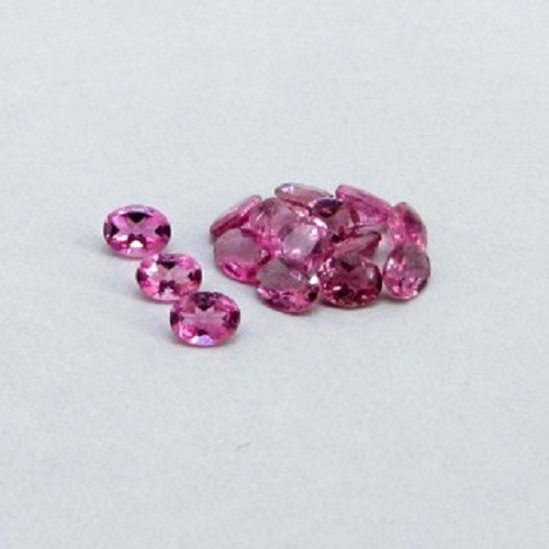 Natural Pink Tourmaline 4x5mm 50 Pieces Lot Faceted Cut Oval Pink Color Top Quality Loose Gemstone